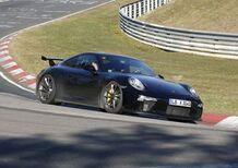 Porsche 911: in arrivo il restyling della GT3