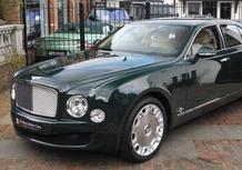 Bentley Mulsanne: la Regina Elisabetta la vende