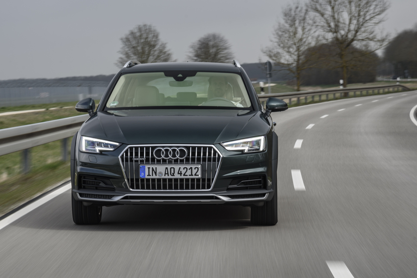 Nuova Audi A4 Allroad 2016 Prove Automoto It