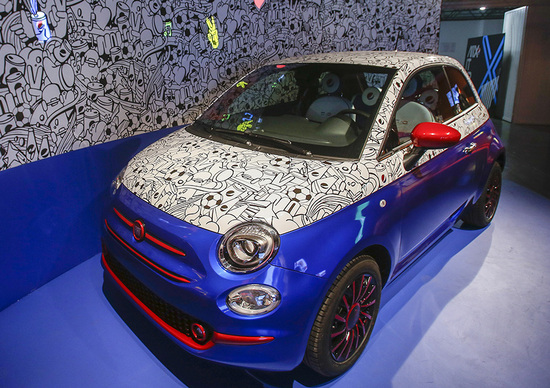 Fiat 500: incontra il design Pepsi
