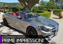 Mercedes-AMG S 63 Cabriolet [Video]
