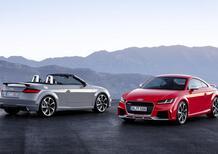 Nuova Audi TT RS: ora ha 400 CV