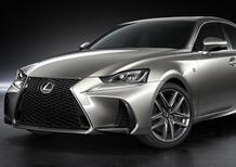 Lexus IS restyling: tutto cambi perché niente cambi