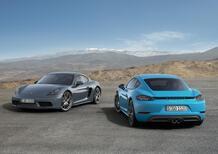 Porsche 718 Cayman, addio aspirato: arriva il boxer 4 cilindri turbo