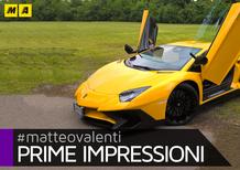 Lamborghini Aventador SV [Video prime impressioni]