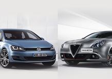 Quale comprare, Confronto: Alfa Romeo Giulietta 1.6 JTDm TCT Vs VW Golf 1.6 TDI DSG