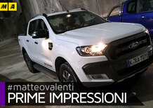 Ford Ranger restyling 2016 [Video prime impressioni]