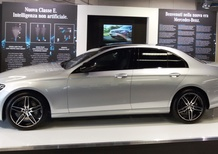 Company Car Drive 2016, Mercedes: nuova Classe E Business Sport Intelligent Drive