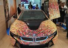 BMW i8 Futurism Edition: Garage Italia Customs si ispira a Giacomo Balla