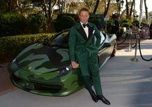 La Ferrari 458 Camouflage di Lapo Elkann aggiudicata per 1 milione di euro