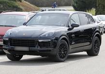 Nuova Porsche Cayenne: i primi scatti del muletto