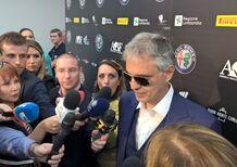 Andrea Bocelli: «Alfa Romeo? Un marchio che porto nel cuore dall'infanzia»