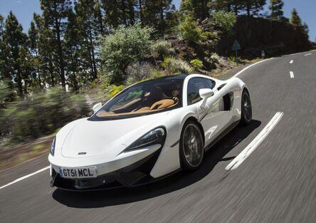 """McLaren 570GT, quella """"comoda"""""""