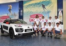 Citroen Unconventional Team: Onde, Vento, Salti e adrenalina!