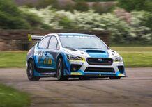 Subaru WRX STi, è record al TT 2016