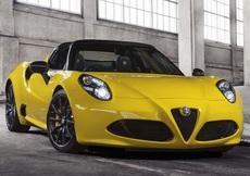 Alfa Romeo 4C Spider (2015->>)