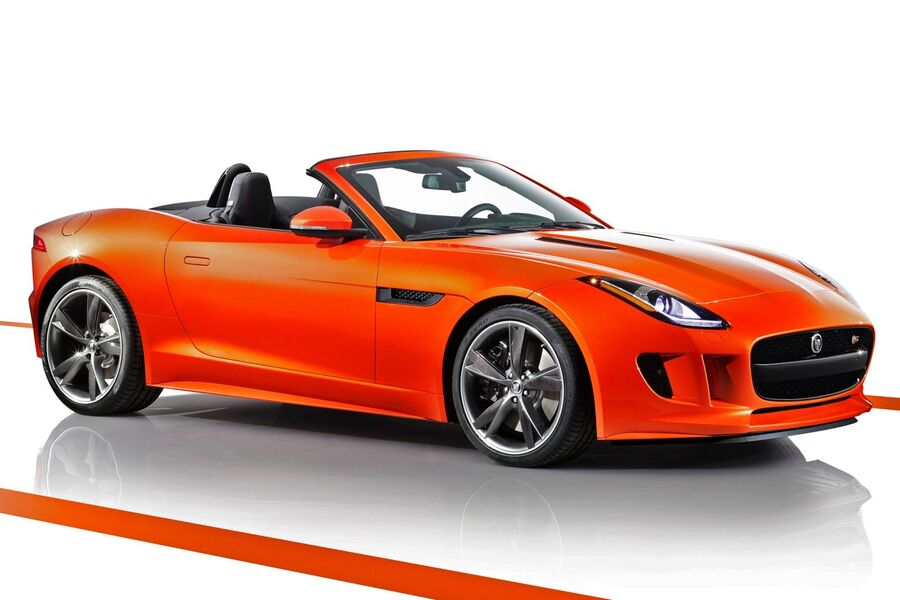 listino jaguar f type cabrio 2013 usate. Black Bedroom Furniture Sets. Home Design Ideas