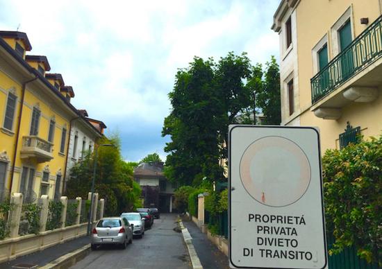 Multe su strada privata sono valide news for Strada privata