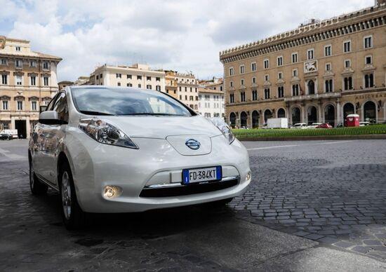 Con Enel, Mercedes, Nissan il noleggio a lungo termine si fa elettrico