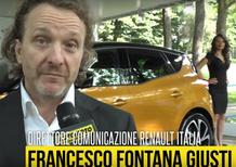 "Fontana Giusti, Renault: ""Parco Valentino proposta molto interessante"""