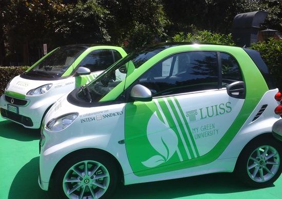 Luiss Green Mobility: l'università sposa la mobilità a zero emissioni