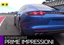 Nuova Porsche Panamera: il nostro hot lap al Lausitzring [Video]