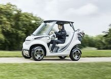 Mercedes-Benz Golf Car, la Stella anche sul green