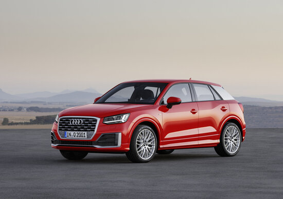 Audi Q2, info e prezzi per l'Italia