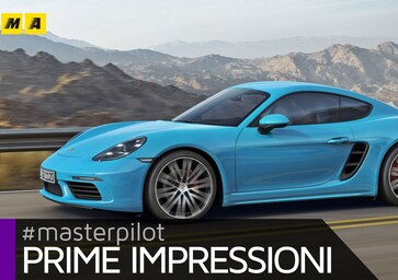 Porsche 718 Cayman [Video primo test]
