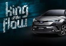 King of the Flow: Toyota C-HR racconta lo urban flow