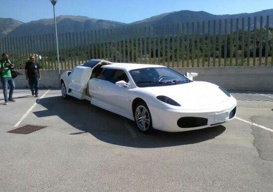 La Polizia scopre una Ferrari taroccata