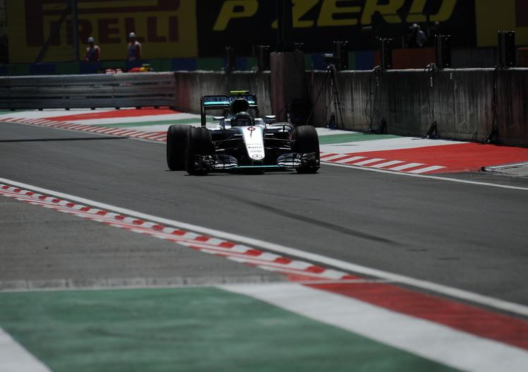 F1, Gp Ungheria 2016, FP3: Rosberg davanti a tutti