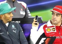 F1, Hamilton vs Alonso: le differenze in frenata