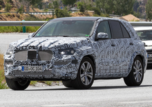 Nuova Mercedes GLE 2018: test su strada per la nuova generazione