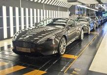 Aston Martin DB9: l'ultimo esemplare lascia la fabbrica