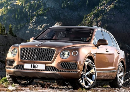 Bentley Bentayga: i lavafari più spettacolari di sempre [Video]