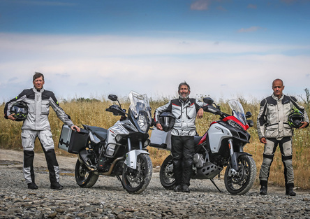 Ducati Multistrada Enduro 1200 vs KTM 1290 SuperAdventure: teaser