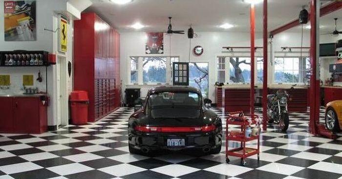 I 10 garage pi spettacolari della terra news - Garage sotterraneo ...