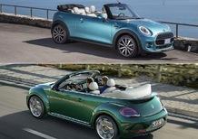 Quale scoprire, Confronto: VW Maggiolino Cabriolet 1.2 TSI Vs Mini One Cabrio