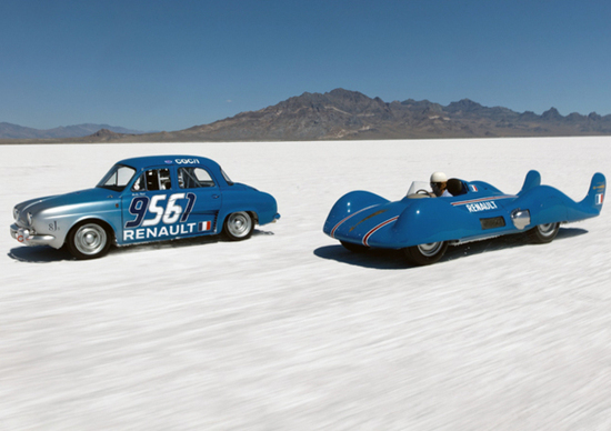 Bonneville speed week renault che record news for Renault renord