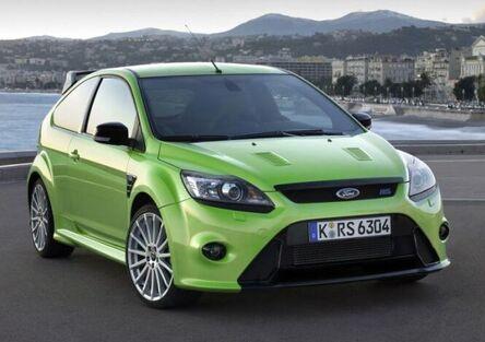 Le 7 Ford RS entrate nella leggenda