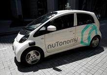 Singapore, ecco il primo taxi a guida autonoma