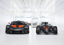 """McLaren P1 GTR: """"l'abito"""" da Formula 1"""