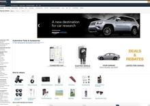 Nasce Amazon Vehicles, portale dedicato al settore automotive