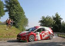 CIR 2016. Rally Friuli. Basso (Ford) al comando