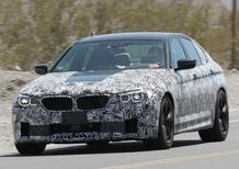 Nuova BMW M5 2017: nuovi test per i muletti