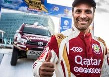 Dakar 2017. La mezza notizia che vale doppio: Al Attiyah con Toyota