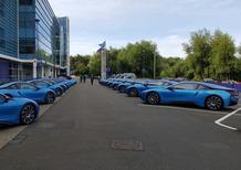 BMW i8: tutte uguali, i giocatori del Leicester le confondono!