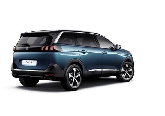 Nuova Peugeot 5008: foto e informazioni