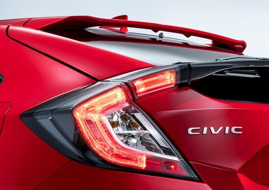 Honda Civic Hatchback 2017, il debutto a Parigi